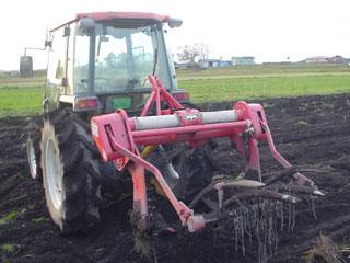 掘り取り機