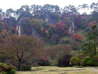 きみまち阪公園 屏風岩